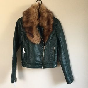 Forever 21 faux leather jacket. M